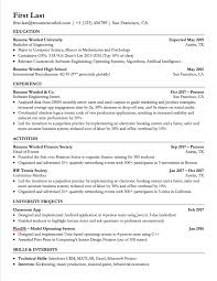 Resume Template Word Examples Best Templates 25 Elegant Wordp