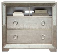 silver nightstand  silver leaf style mirror nightstands or