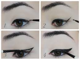 korean make up eye line natural cara korea you tutorial makeup mata