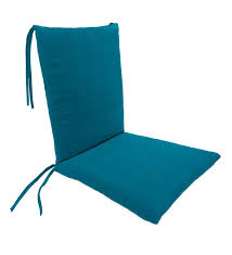 sunbrella classic rocking chair cushions with ties seat 21 front 17