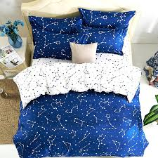 space comforter hipster galaxy sets universe outer themed print duvet cover double queen size kids in