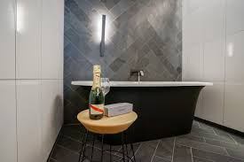 QT Melbourne Review The Citys Best Hotel Hey Gents - Bathroom melbourne