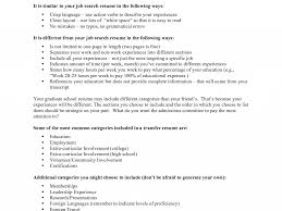 Enjoyable Grad School Resume Examples For Graduate Example And