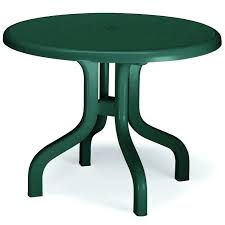 round resin patio tables plastic resin outdoor side tables