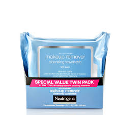 neutrogena makeup remover cleansing face wipes 25 sheets pack of 2