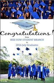 Congratulations On Your Graduation Ieee Uow Student Branch