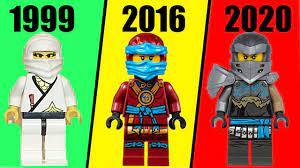 ALL LEGO NINJAGO Nya EVOLUTION + LEGO NINJAGO Season 1-13 - YouTube