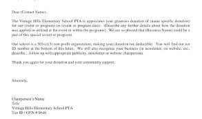 Contribution Letter Donation Letter For Non Profit Best Of Business Nonprofit