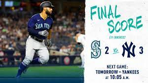 """Seattle Mariners on Twitter: """"First ..."""