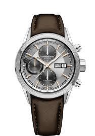 raymond weil freelancer men s brown leather chronograph watch