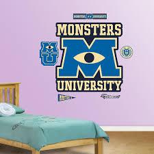 Fathead Monsters University Logo Wall Decor
