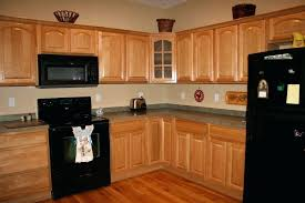 kitchen color ideas with oak cabinets and black appliances. Beautiful Ideas Oak Color Cabinets Kitchen Paint Ideas With Home  With Kitchen Color Ideas Oak Cabinets And Black Appliances L