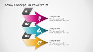 Powerpoint Chevron Template Ppt Diagrams Chevron Bar Powerpoint Diagram Template Free Step Mkles