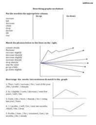 5 Describing Graphs Vocabulary And Writing Exercises