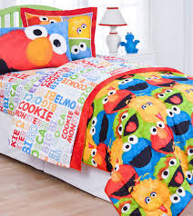 elmo twin sheet set sesame street comic bedroom collection twin bed sheets big bird