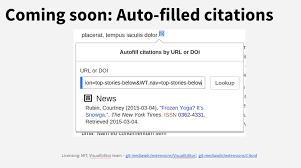 Dario Taraborelli On Twitter Auto Filled Citations Using Citoid