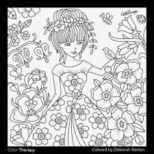Best Coloring Pages Groovy Color Therapy Pages As Though Recolor