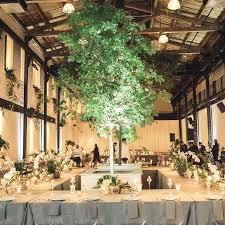 Wedding Tree Lights 24 Unique Wedding Lighting Ideas