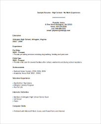 highschool resume examples high school resumes musiccityspiritsandcocktail com