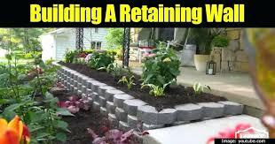building garden retaining walls a boring landscape in the backyard or around a patio can come building garden retaining walls