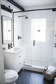 A Modern Meets Traditional Black and White Bathroom Makeover. Small Bathroom  InteriorBathroom Ideas ...