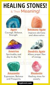 Healing Stones And Their Meaning To Attain Healing From