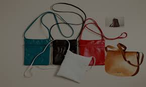 exclusive range of leather bags