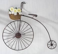 bicycle metal wall art