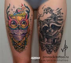 енот значение татуировок в россии Rustattooru