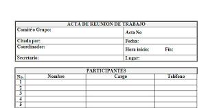 Formato De Minuta En Excel Formato Acta De Reunion Excel Konel Kaptanband Co