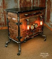 steam punk furniture industrial bar hostess stand table pub buffet steampunk  furniture for sale uk