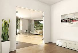 interior clear glass door. Wonderful Interior Frameless Glass Double Doors  Clear Gallery Photo To Interior Clear Glass Door