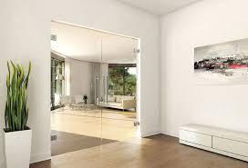 interior frameless glass door. Frameless Glass Double Doors - Clear Gallery Photo Interior Door