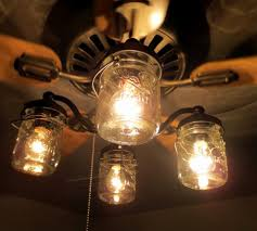 chandelier fan lights kit inspirational mason jar ceiling fan jars globes light kit diy hunter