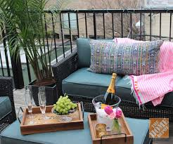 Fine Diy Patio Decorating Ideas Small Photos Intended Inspiration