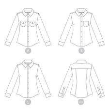 Button Up Shirt Pattern