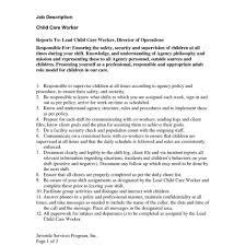 Preschool Teacher Assistant Job Description Resume For Receptionist