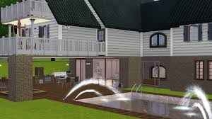 basement pool house. House Plans With Walkout Basement And Pool Home Desain 2018