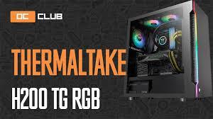 <b>Thermaltake H200</b> TG RGB: обзор. Недорогой <b>корпус</b> с ARGB ...