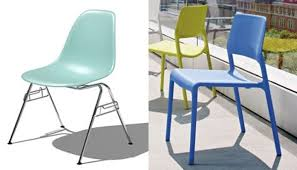 Inspiration Of Molded Plastic Dining Chairs And Wonderful Modern S Intended Decorating Ideas