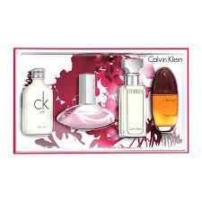 calvin klein women 4 piece perfume gift set