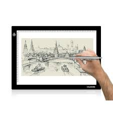 Light Box Drawing Tracing Huion L4s Led Light Box A4 Ultra Thin Usb Powered Adjustable Light Pad For Tracing