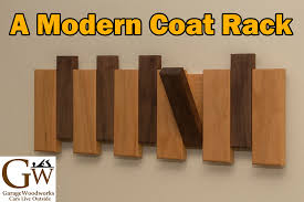 Diy Wood Coat Rack A Modern Coat Rack YouTube 65