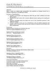 Resume Objective For Medical Field Extraordinary Resume Cover Letter General Resume Objective Examples Professional