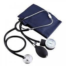sphygmomanometer. aneroid sphygmomanometer arm blood pressure monitor stethoscope kit home use