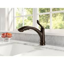 Older Delta Kitchen Faucets Delta Faucet 4353 Dst Linden Polished Chrome Pullout Spray Kitchen