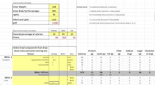 diet spreadsheet free diet planner vegan muscle and fitness