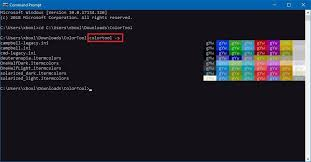 Windows 10 Color Scheme How To Change The Appearance Of Command Prompt On Windows 10