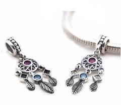Dream Catcher Charm Bracelet Best Sterling Silver Dream Catcher Charm Dream Catcher Jewelry Etsy