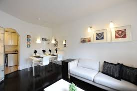 black and white apartment decor: black and white living room apartment decor